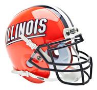Illinois Fighting Illini Schutt Mini Authentic Helmet