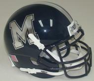 Memphis Tigers Alternate M Schutt Mini Authentic Helmet