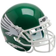 North Texas Mean Green Schutt Mini Authentic Helmet