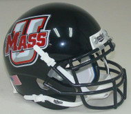 University of Massachusetts Schutt Mini Authentic Helmet