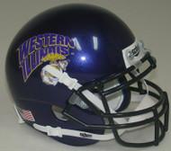 Western Illinois Leathernecks Alternate Schutt Mini Authentic Helmet