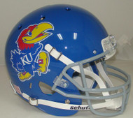 Kansas Jayhawks Schutt Full Size Replica Helmet