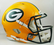 Green Bay Packers NEW Riddell Full Size Authentic SPEED Helmet