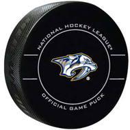 Nashville Predators Throwback Sherwood Official NHL Puck