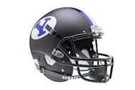 Brigham Young BYU Cougars Alternate Black Schutt Full Size Replica Helmet
