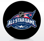 2015 NHL All-Star Game Sherwood Souvenir Game Puck - Columbus