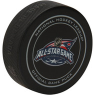 2015 NHL All-Star Game (Columbus, OH.) Sherwood Official Game Puck in Cube