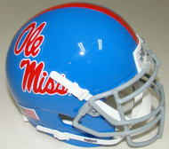 Mississippi (Ole Miss) Rebels Alternate Blue Schutt Mini Authentic Helmet