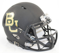 Baylor Bears Alternate Black Revolution SPEED Mini Helmet