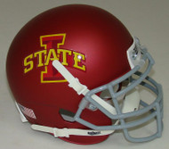 Iowa State Cyclones Alternate Matte Schutt Mini Authentic Helmet