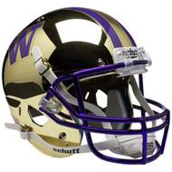 Washington Huskies Alternate Chrome Schutt Full Size Replica Helmet