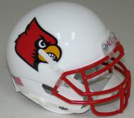 Louisville Cardinals Alternate 1 Schutt Mini Authentic Helmet