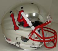 Fresno State Bulldogs Alternate Chrome Schutt Full Size Replica Helmet