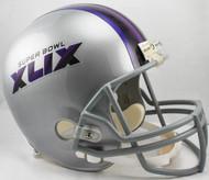 Super Bowl XLIX 49 Riddell Full Size Replica Helmet
