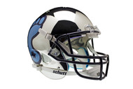 North Carolina Tar Heels Alternate Chrome Schutt Full Size Replica Helmet