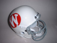 Wisconsin Badgers 1972-74 Schutt Throwback Mini Authentic Helmet