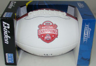 Ohio State Buckeyes 2015 National Champion Full-Size Football by Baden