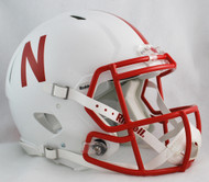 Nebraska Cornhuskers NEW Riddell Full Size Authentic SPEED Helmet