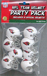 Arizona Cardinals Gumball Party Pack Helmets (Pack of 8)