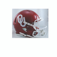 Oklahoma Sooners NEW Riddell Full Size Authentic SPEED Helmet