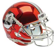 Oklahoma State Cowboys Orange CHROME Pistol Pete Schutt Mini Authentic Helmet