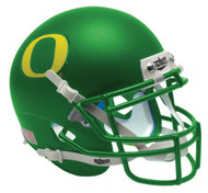 Oregon Ducks Apple Green Alternate Schutt Mini Authentic Helmet