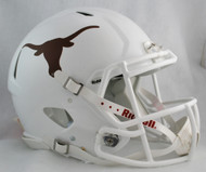 Texas Longhorns NEW Riddell Full Size Authentic SPEED Helmet