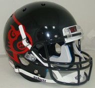 Louisville Cardinals Alternate Black Schutt Full Size Replica Helmet