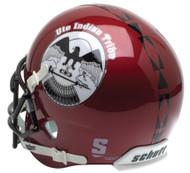 Utah Utes Alternate 8 PROUD Indian Tribe Schutt Mini Authentic Helmet