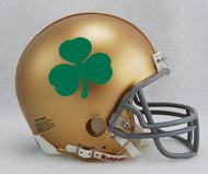 Notre Dame Fighting Irish Shamrock Clover NCAA Riddell Mini Helmet