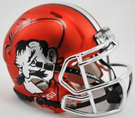 Oklahoma State Cowboys Chrome Pistol Pete NCAA Riddell Speed Mini Helmet