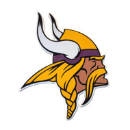 Minnesota Vikings VIKING HEAD 3D Fan Foam Logo Sign
