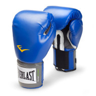 Everlast Blue Pro Style Training Boxing Gloves - 16 oz.