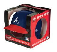 Atlanta Braves MLB Rawlings Replica MLB Baseball Mini Helmet