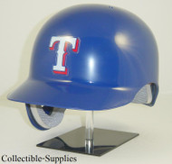 Texas Rangers Blue Rawlings Classic REC Full Size Baseball Batting Helmet