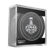 2015 NHL Stanley Cup Finals Playoff Sherwood Official Game Puck - Game 1 (One)