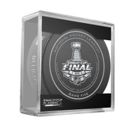 2015 NHL Stanley Cup Finals Playoff Sherwood Official Game Puck - Game 5 (Five)