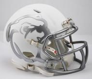 Mississippi State Bulldogs Alternate White Bulldog NCAA Riddell SPEED Mini Helmet