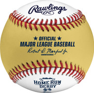 2015 MLB All-Star Game Rawlings Official Gold Home Run Derby Baseball In Cube