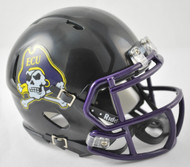 East Carolina Pirates Alternate BLACK NCAA Revolution SPEED Mini Helmet