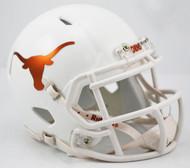 Texas Longhorns Alternate Chrome NCAA Riddell SPEED Mini Helmet