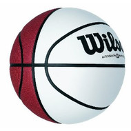 Wilson Full Size Autograph Basketball with 4 White Panels