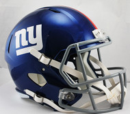 New York Giants SPEED Riddell Full Size Replica Helmet