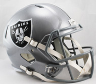 Oakland Raiders SPEED Riddell Full Size Replica Helmet