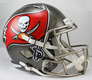 Tampa Bay Buccaneers SPEED Riddell Full Size Replica Helmet