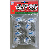 Detroit Lions Gumball Party Pack Helmets (Pack of 8)