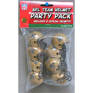 New Orleans Saints Gumball Party Pack Helmets (Pack of 8)