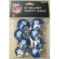 New York Giants Gumball Party Pack Helmets (Pack of 8)