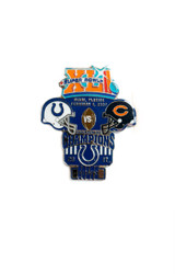 Super Bowl XLI (41) Commemorative Lapel Pin