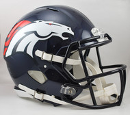 Denver Broncos NEW Riddell Full Size Authentic SPEED Helmet